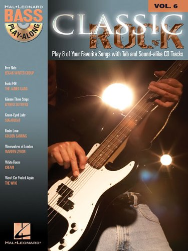Bass Free Music String (Classic Rock: Bass Play-Along Volume 6 (Hal Leonard Bass Play-Along with Online Audio))