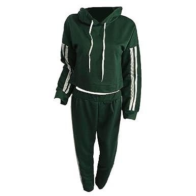 2018 mode herbst winter frauen hoodies anzug sport anzüge patchwork hoodies pullover + elastische taille hosen 2 stück set