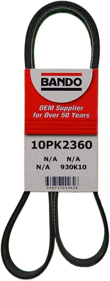 Bando 10PK1225 OEM Quality Serpentine Belt