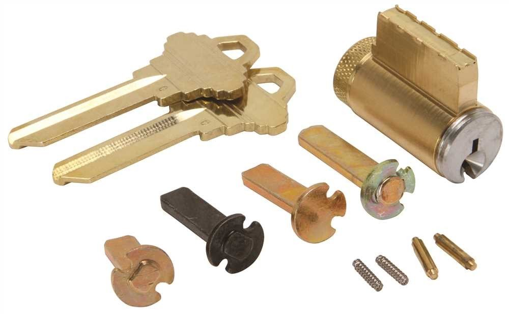 626 C Keyway Varies Metal Satin Chrome Schlage 40-100-C-626 Key in Knob Or Key in Lever Cylinder with Multiple Tailpieces