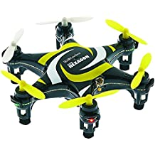 Revell Germany Electric Powered 2.4GHz Radio Controlled Ready to Fly Nano Hexagon Drone (Black)