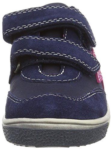 Indigo 442 185 Mädchen Sneakers Blau (Navy VL 838)