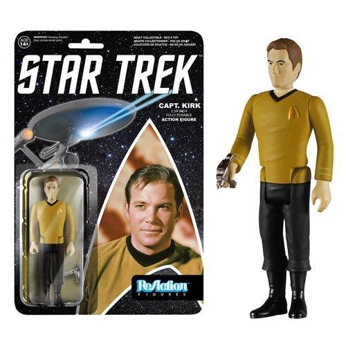 Star Trek Captain Kirk ReAction 3 3/4-Inch Retro Action Figure