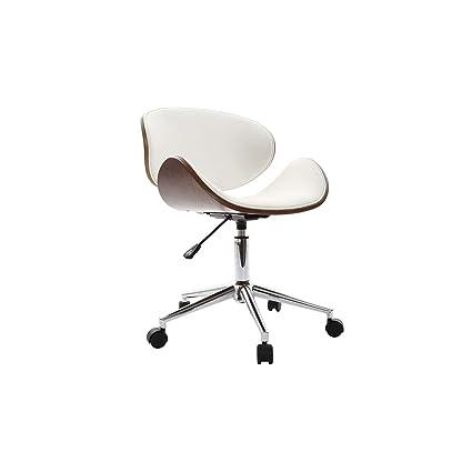 Design Blanc Walnut Miliboo Bureau foncé Chaise de et Bois QdCxtBhrs