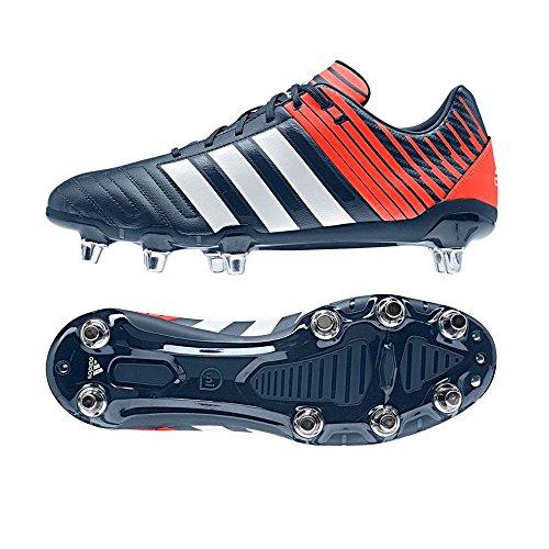 Regulate Kakari SG-Botas calzado grande de Rugby, Rojo (rojo), 10