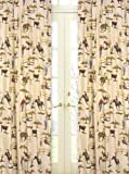 Wild West Cowboy and Horses Print Window Treatment Panels by Sweet Jojo Designs – Set of 2, Baby & Kids Zone