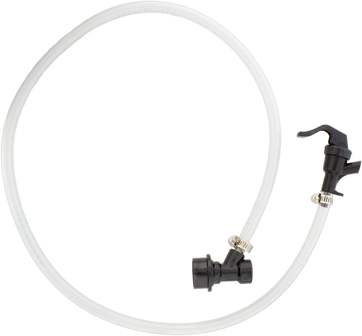 Ball Lock Cornelius Beer Keg Line Assembly – 3/16 x 40in Tubing, Picnic Faucet, and MFL Liquid Disconnect - Preassembled