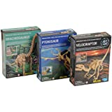 Dig A Dino Excavation Kit 3 Pack - Series 2 by Toysmith