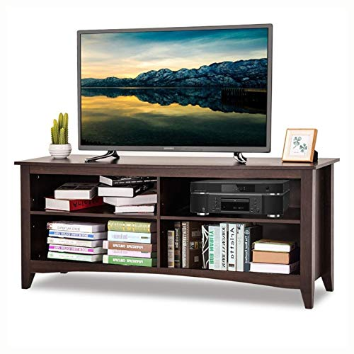 - HEATAPPLY TV Stands and Entertainment Centers, Contemporary TV Stand for up to 60-inch TV in Espresso Finish