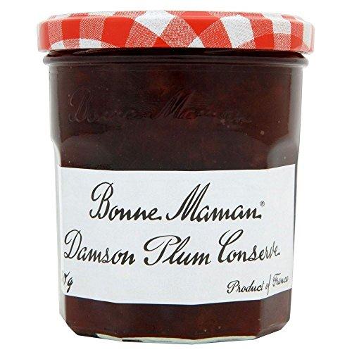 Damson Preserve - Bonne Maman Damson Plum Conserve (370g) - Pack of 2