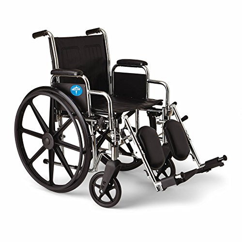 Medline Excel 2000 Wheelchair, 18