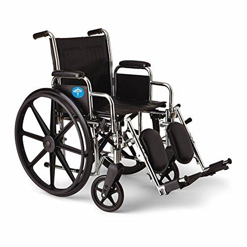 Medline Excel Extra Wide Wheelchairs - Medline Excel 2000 Wheelchair, 18