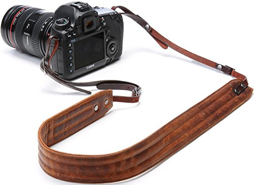 ONA - The Presidio - Camera Strap - Antique Cognac Leather (ONA023LBR)