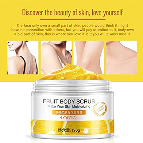 skin lightening body scrub