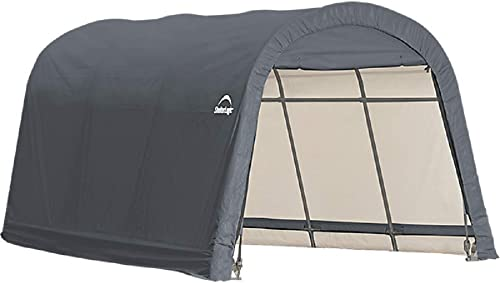 ShelterLogic Replacement Cover Kit 12x16x8 Round Gray Model 90535 7.5oz Gray