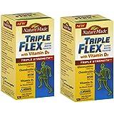 Nature Made TripleFlex Triple Strength w/ Vitamin D3, 120 Caplets (2 Bottles)
