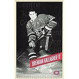 Brendan Gallagher Hockey Card 2015-16 Montreal Canadiens Postcards #11 Brendan Gallagher