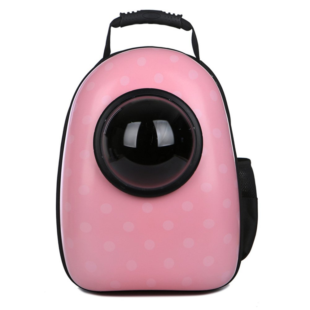 B Pets Carrier Space Capsule Bubble Transparent Backpack Bag for Small Cats and Dogs Breathable Designed for Travel, Hiking&Outdoor Use