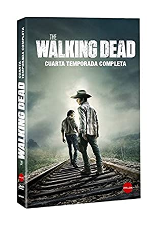 The Walking Dead - Temporada 4 --- IMPORT ZONE 2 ---: Amazon.de ...
