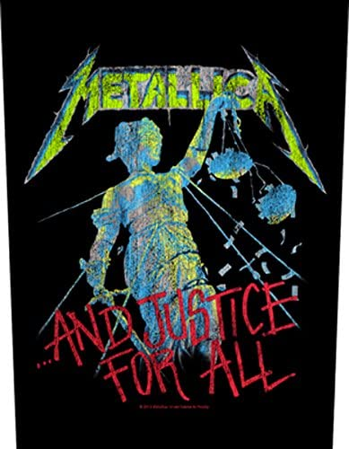 ...and justice for all Patch METALLICA