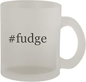 #fudge - 10oz Hashtag Frosted Coffee Mug Cup, Frosted