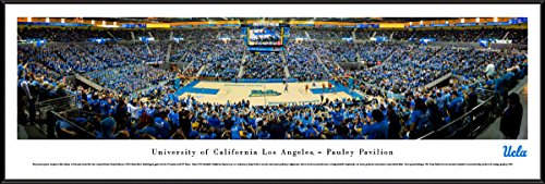 UCLA Bruins Basketball - Blakeway Panoramas College Sports Posters with Standard Frame