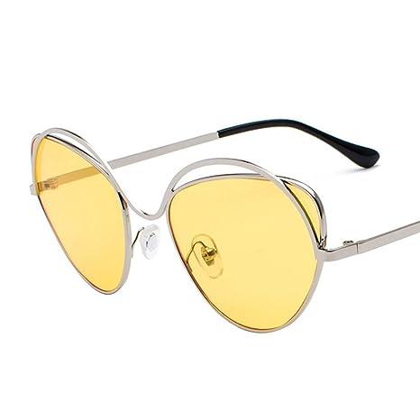 BiuTeFang Gafas de Sol Mujer Hombre Polarizadas Señora de ...