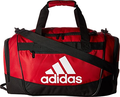 adidas Defender III Duffel Bag-Power Red/Black/White, Small from adidas