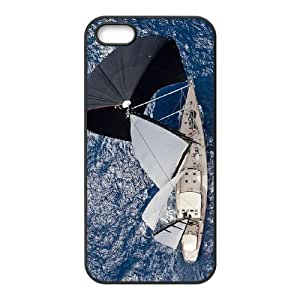 Beautiful Sailboat Rudders Custom Cover Case with Hard Shell Protection for Iphone 5,5S Case lxa#402191
