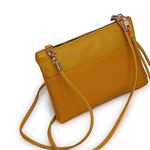 Pouch Pocket Brown Messenger Cellphone Black Bag Crossbody Satchel Shoulder Mini Bags Woman Handbag Ladies for pawFq7