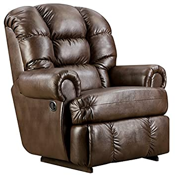 Espresso Leather Recliner