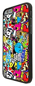 StickerBomb Sticker Bomb Cartoon Cool Funky Design iPhone 5 5S Fashion Trend Cool Case Back Cover Plastic/Metal