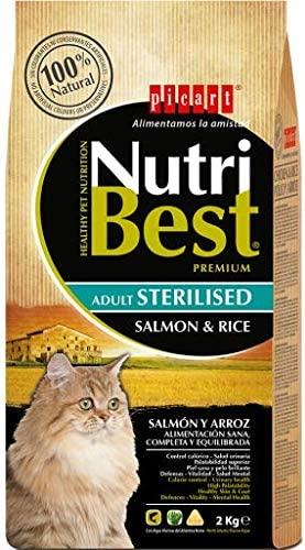 Nutribest Cat Sterilised Salm 8K 8000 g