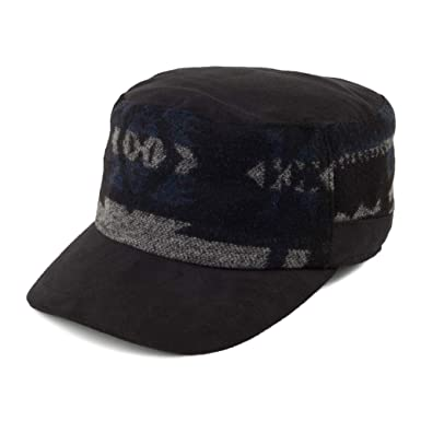 SCALA Gorra Militar con Estampado Negro - Ajustable: Amazon.es ...