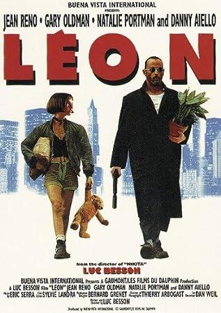 amazon leon the professional poster 69 5cm x 101 5cm 映画