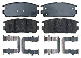 #5: ACDelco 17D1275CH Professional Ceramic Rear Disc Brake Pad Set