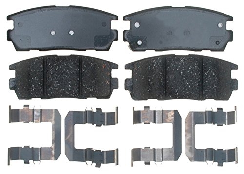ACDelco 17D1275CH Professional Ceramic Rear Disc Brake Pad Set