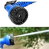 TechCode–100-Meter-erweiterbar-Flexible-Gartenschlauch-Rohr-mit-Spritzpistole-fr-die-Bewsserung-von-Pflanzen-und-Autowaschanlagen