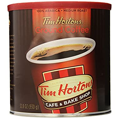 Tim Hortons Arabica Medium Roast Coffee, 32.8 Oz