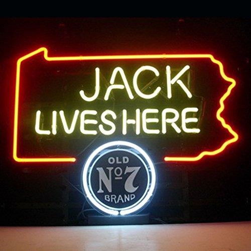 """HOT Eagle 17""""x 14"""" Jack Daniels Jack Lives Here Pennsylva..."""