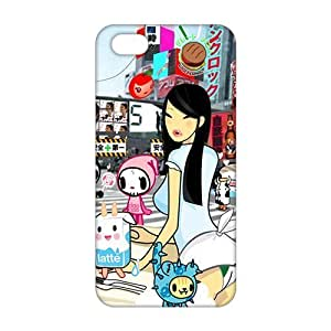 Angl 3D Case Cover Cartoon Cute Phone Case for iPhone 5s