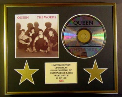 QUEEN/CD Display/Limitata Edizione/Certificato di autenticità /THE WORKS Everythingcollectible 0I-3FM2-6YZE