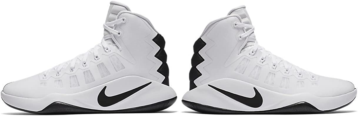 womens black and white basketball shoes