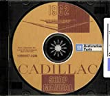 1962 CADILLAC REPAIR SHOP & SERVICE MANUAL CD - Sedan, Coupe, Convertible, Eldorado Biarritz, Coupe De Ville, Sedan De Ville, Fleetwood Sixty-Special and Fleetwood 75. 62