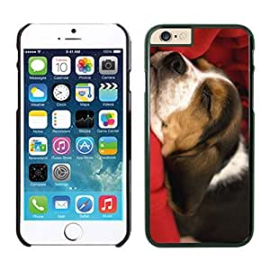 2014 Newest Christmas Cute Sleeping Dog Iphone 6 Cover Case For Iphone 6 4.7 Inch