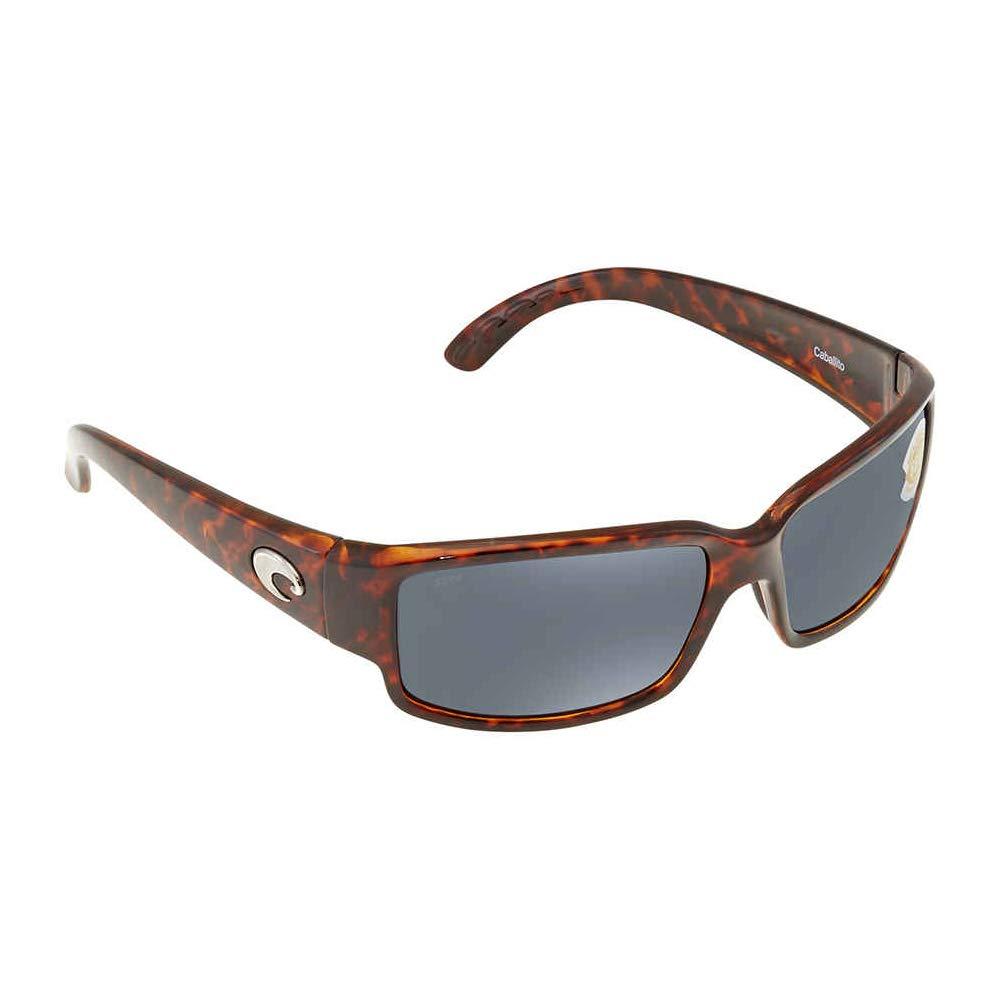 Costa Del Mar Sunglasses - Caballito- Plastic / Frame: Tortoise Lens: Polarized Gray 580P Polycarbonate by Costa Del Mar