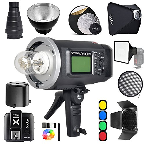 Large Outdoor Mount - Godox AD600BM Bowens Mount 600Ws GN87 1/8000 HSS Outdoor Flash Strobe Monolight with X1S Wireless Trigger for Sony Camera/32