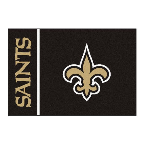FANMATS NFL New Orleans Saints Nylon Face Starter Rug