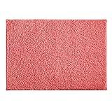 AmazonBasics Alfombra de baño, 43 cm x 61 cm, rosado coral