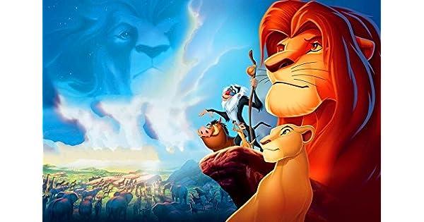 Amazon.com: Gabriela 21 x 14 inch o 36 x 24 inch el rey León ...